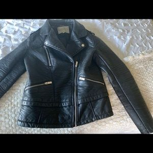 Faux leather Moro Jacket